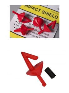 Red Pack of 50 Genuine Breakaway NEW Impact Shields