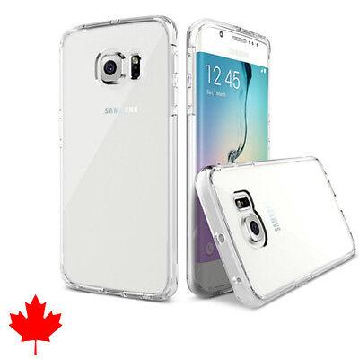 Samsung Galaxy S6 EDGE Case - Transparent Crystal Clear Soft Thin Flexible TPU