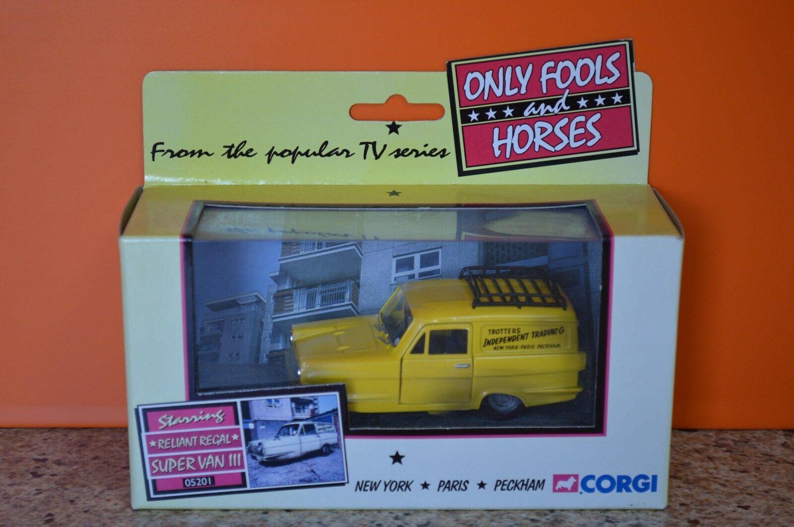 Corgi Vanguards 05201 Reliant Regal Parts
