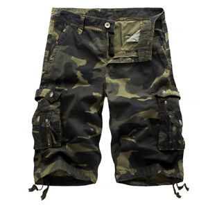purchase cheap hot sale cheaper sale Details about Summer Men's Military Army Fatigue Camo Cargo Shorts  Camouflage Sports Pants