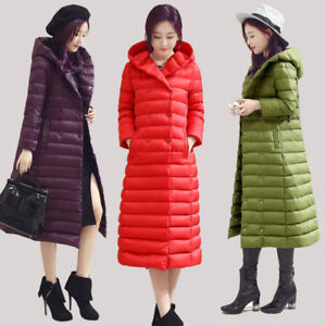 Womens-winter-Duck-Down-Coat-Puffer-Jacket-Ultralight-down-hooded-Parka-trench