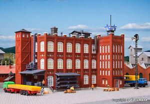 """Kibri Z Scale Building/Structure Kit Large Factory Building """"Grunderzeit"""""""