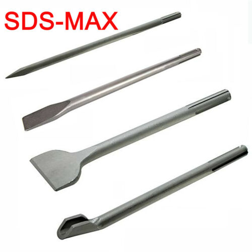 SDS MAX Meißel Set Flachmeißel Spitzmeißel Breitmeißel für DUSS PX 48 76 78 96