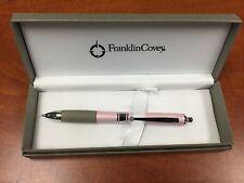 2 pcs//set Franklin Covey FC0040-4 Melbourne Pink Multifunction Ballpoint Pen