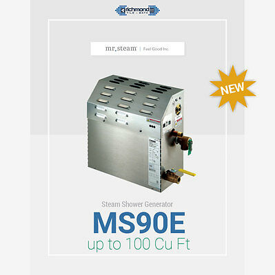 Ms90e 5kw Steam Generator 100 Cu Ft Coverage By Mr Steam Best Deal 767931130014 Ebay