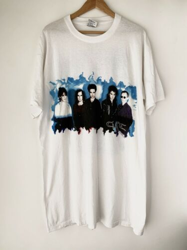 """1992 The Cure """"WIsh Tour"""" Vintage Band New Wave Sh"""