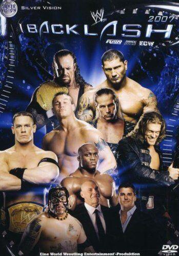 1 von 1 - WWE Backlash 2007 Orig DVD WWF Wrestling deutsche Version