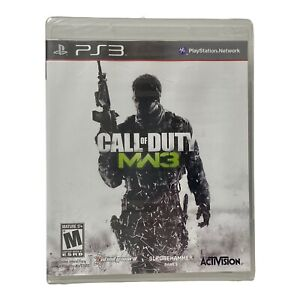 Call of Duty: Modern Warfare 3 (Sony PlayStation 3 PS3, 2011) Brand New Sealed
