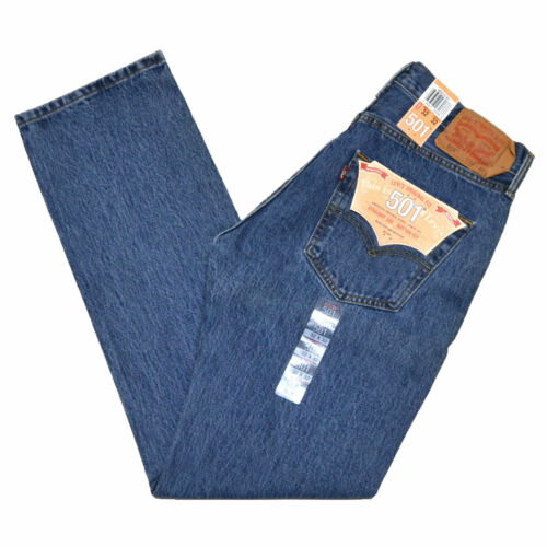 Jeans W36 Stonewashed W30 Denim 501 Button Levis W34 Mens Fly W38 W32 vWA5RwxYqn
