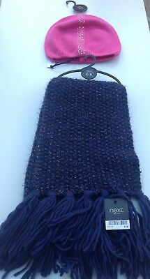 Dolce Next Ladies Hat And Scarf Set One Size