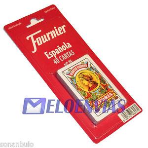 BARAJA-DE-CARTAS-ESPANOLA-FOURNIER-N-15-ORIGINAL-40-NAIPES-CALIDAD