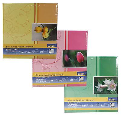 Fotoalbum, Familienalbum, Standard Album, Dörr Slim Jumbo Album Flowers - Tulpen