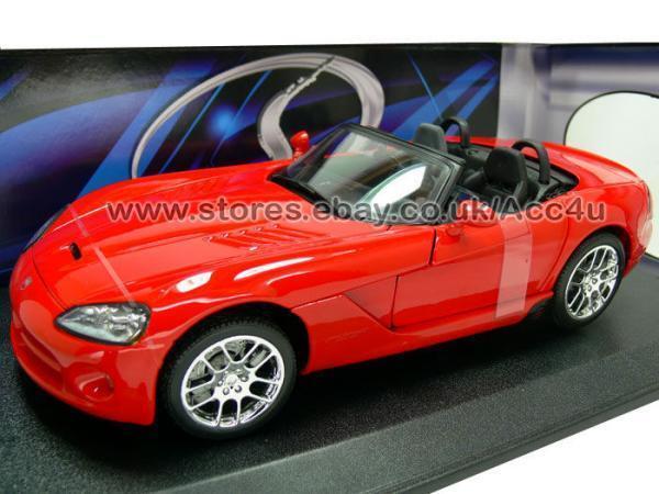 Maisto 2003 Dodge Viper SRT-10 Red 1 18 Scale Maisto Diecast Model Car 31632