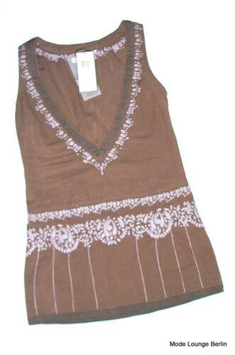 S Tunica Carlton Noa New Taglia 36 Cotton Camicia Field Tunica Brown Camicia x6w1n0Zq1