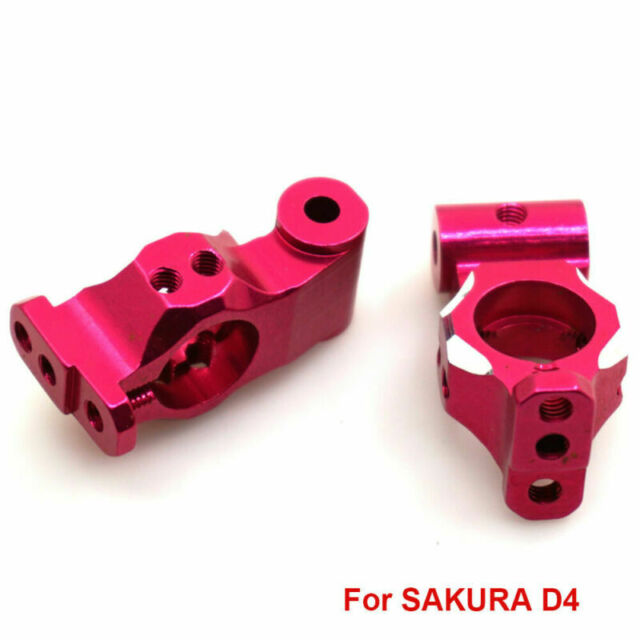 Mxfans 2 x Front Upper Suspension Arms for Sakura D4 AWD RWD RC1:10 Drift Car
