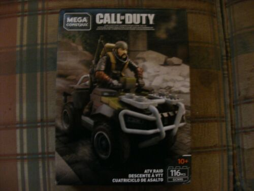 Mega Bloks Construct Call of Duty ATV Raid 116pcs.