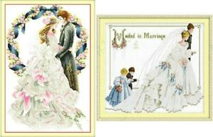 New-Finished-completed-cross-stitch-Wedding-Home-Decor-Gifts