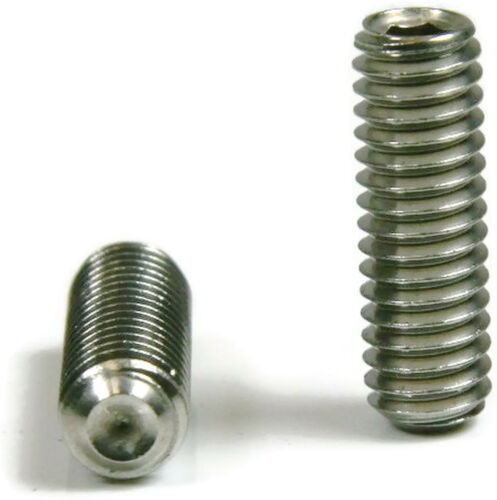 M5 x .8 x 5mm Grub Screws QTY 100 Metric Stainless Steel Socket Set Screw