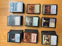 Lot de 1000 cartes magic the gathering 800 communes et 200 peu communes
