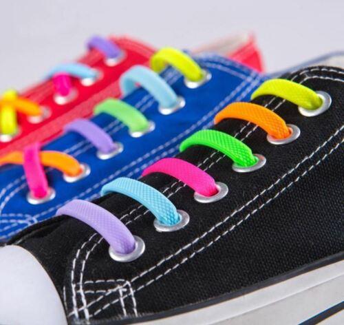 Mens Happy Colour Socks laces UK Size Unisex Fancy Dress Shoelaces Sock Silicone