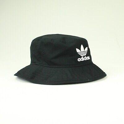 Adidas Originals Logo Cappello Secchio – Nero-taglia Unica- Saldi Di Fine Anno