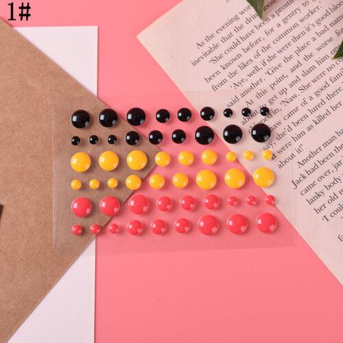 Enamel Dot Sticker Resin Sticker DIY Craft Making Decor Scrapbooking Tool TYUK