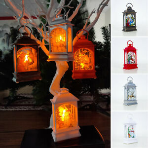 Christmas-Tree-Hanging-Lamp-Santa-Claus-Deer-Snowman-Light-Decor-Home-Decoration