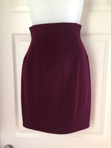 Claude Montana Purple Skirt SZ 4
