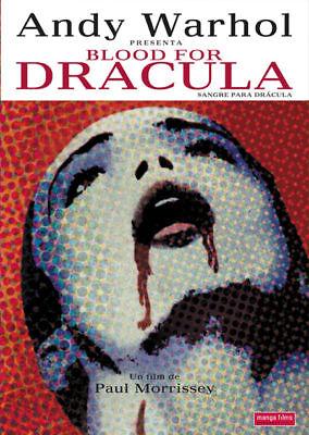 Blood for Dracula Paul Morrissey horror movie poster print