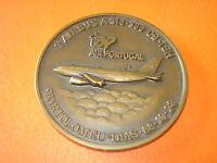 1991 TAP Air Portugal Airbus A310 Bartolomeu Dias first flight bronze medal