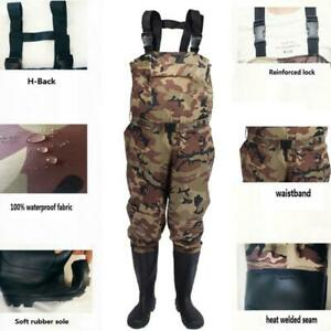 Men-amp-Women-Nylon-PVC-Fishing-Hunting-Waterproof-Chest-Waders-Suspenders-Jumpsuits