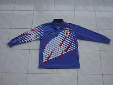 Vtg JAPAN jersey M long sleeve jfa j league asics kazu nakata shirt 90s