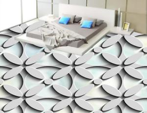 3D Flowers Shape 53 Floor WallPaper Murals Wall Print 5D AJ WALLPAPER UK Lemon