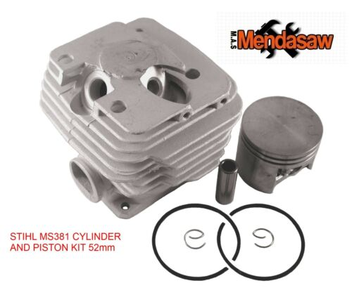 STIHL MS380 MS381 038  52mm  CYLINDER AND PISTON KIT NON GENUINE