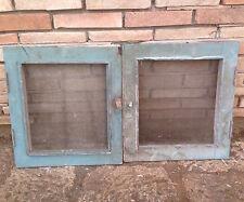 antica finestrella finestra sportelli in legno massello a due ante con reticella