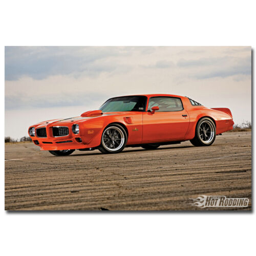 Hot Rods Muscle Car Art Silk Poster Print 12x18 24x36 inch 004