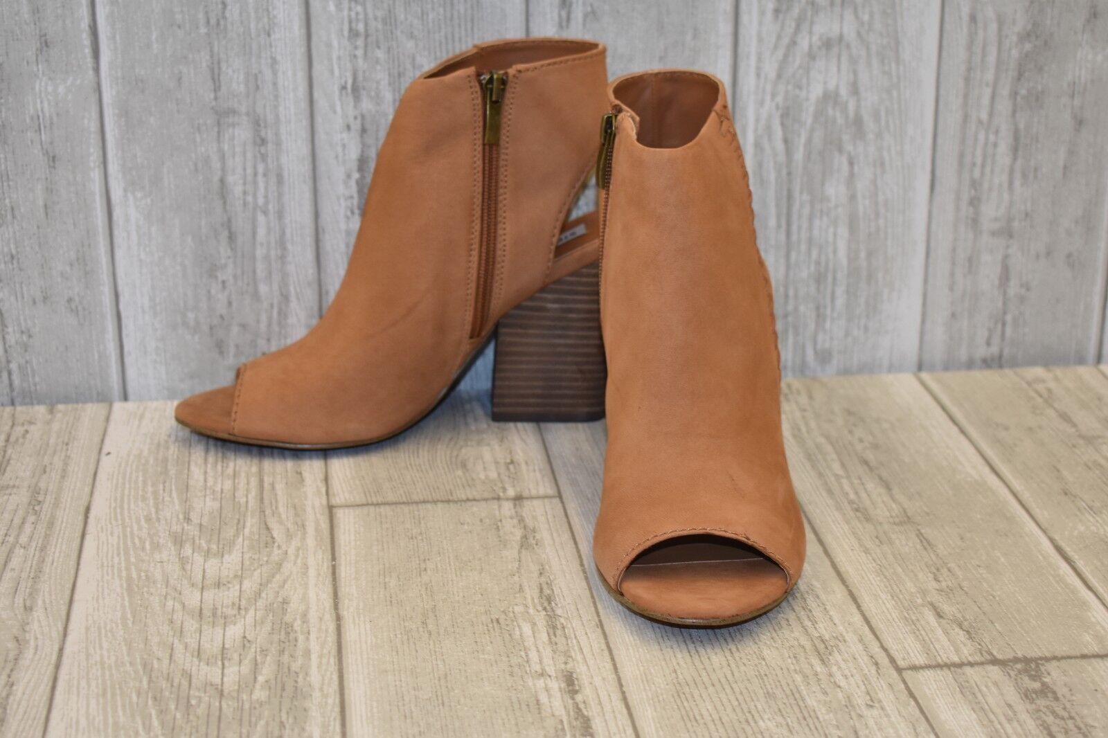 in vendita online Steve Madden Mingle Open Toe Toe Toe avvioies - Donna  Dimensione 9.5 B - Tan  scelte con prezzo basso