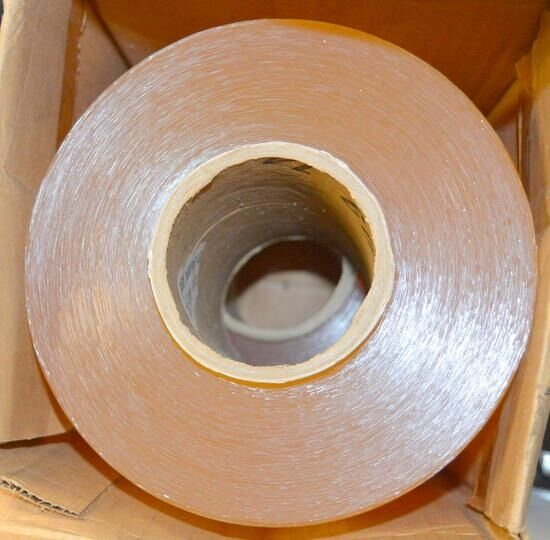 Clear Bone PVC Shield, BG-5 Tape, Food Grade, by Shield Manufacturing.