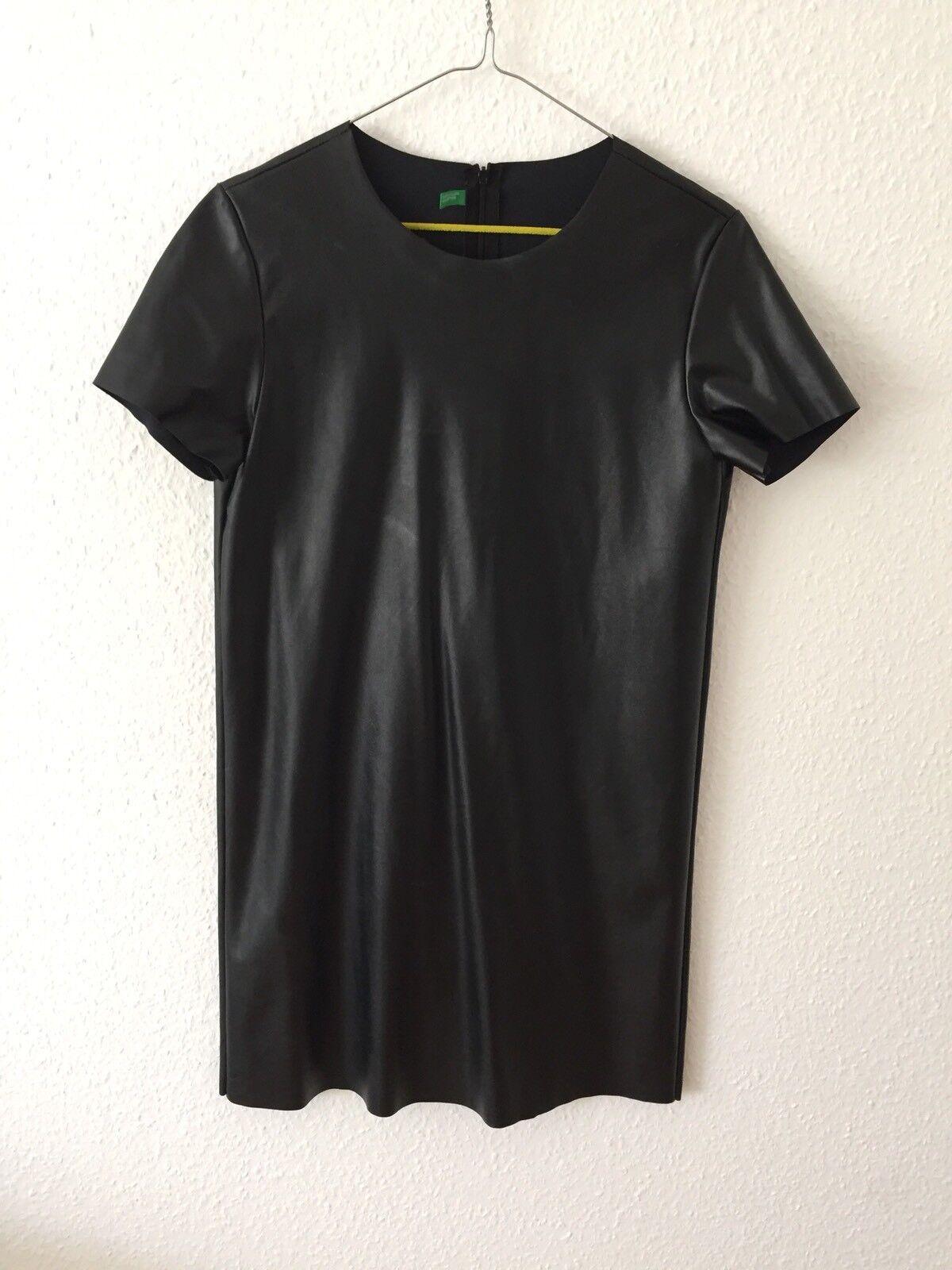 United Farbes of Benetton Kleid Gr. M Kunstleder