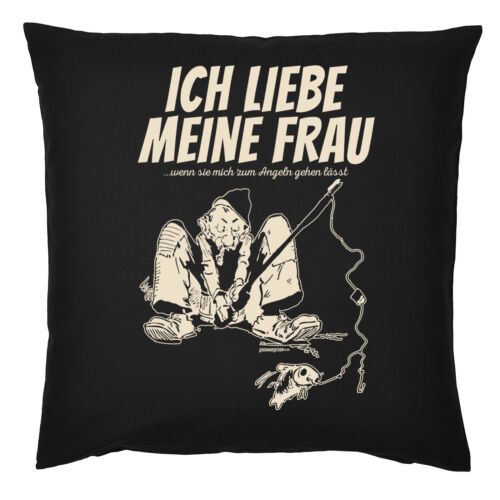 Coussin Angler-Drôle Angler Motif Coussin-Proverbes DECO Coussin Angel Sport