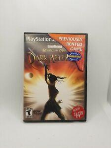 Baldur's Gate Dark Alliance Sony PlayStation 2 PS2 Complete CIB