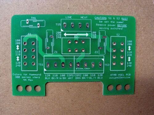 Input PCB for Multi-voltage Transformer Primaries Voltage Selector DIY PCB