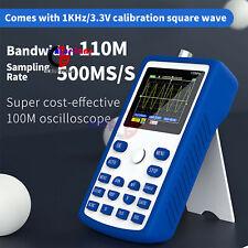 Fnirsi 1c15 Digital Storage Oscilloscope 110mhz Bandwidth 500mss Handheld