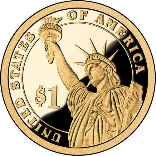 2011 President James Garfield Dollar 2 Coin Set Philadelphia Denver
