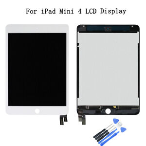 LCD Digitizer Assembly for Apple iPad Mini 4 Black Front Glass Touch Screen
