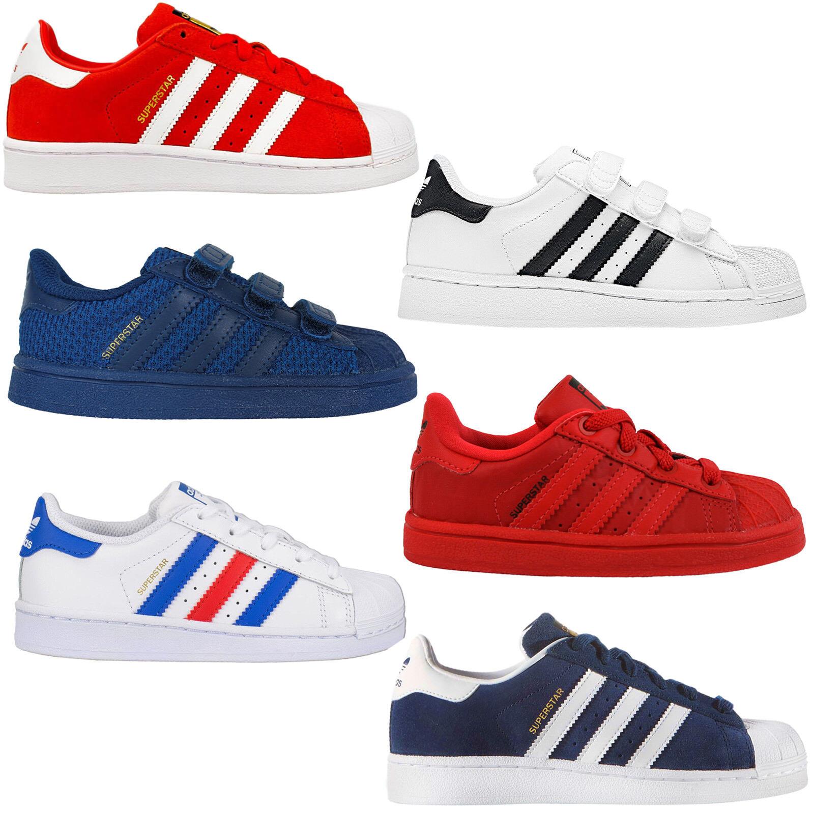Adidas Originals Superstar Sst Kleinkind Kindertrainer Schuhe Sneakers