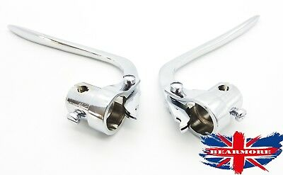 Cycling Learned Brake Clutch Inverted Bar End Control Lever Bsa Bmw Chopper Harley 22mm-25mm Modern Techniques
