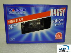 WAGNER-H4651-HIGH-BEAM-HALOGEN-HEADLAMP-LIGHT-12V-SEALED-BEAM-2-PIN-1A1-NEW