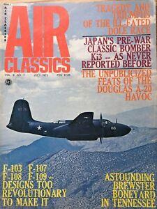 Air Classics  July 1973, Japans Pre War Classic Bomber Ki3