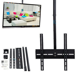 26 32 zoll led tv deckenhalterung fernseher halterung halter 360 drehbar gd ebay. Black Bedroom Furniture Sets. Home Design Ideas